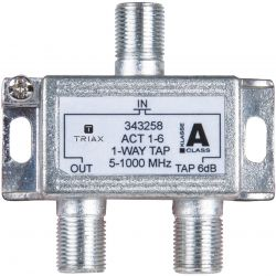 Triax ACT 1-6 Dérivateur de 1 sortie 6dB