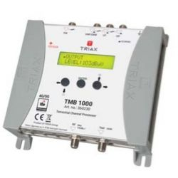Triax TMB 1000 Amplificateur programmable central 4 entrées VHF/UHF + 1FM LTE