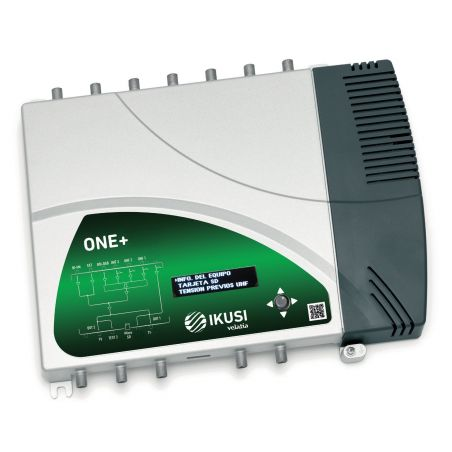 Ikusi ONE+ Central amplificadora programable digital