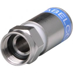 Connecteur compression Cabelcon RG6 F mâle 5.1mm