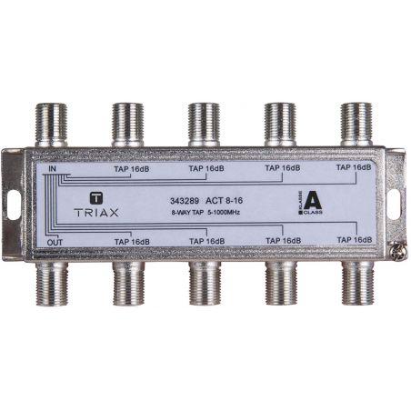 Triax ACT 8-16 Dérivateur de 8 sorties 16dB