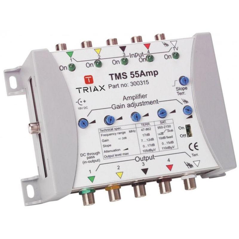 Triax Amplificador de satélite TMS 55 AM