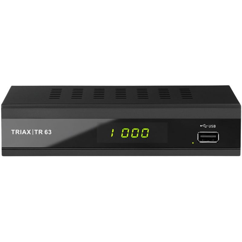 Triax TR 63 Receptor FTA para DVB-T/T2