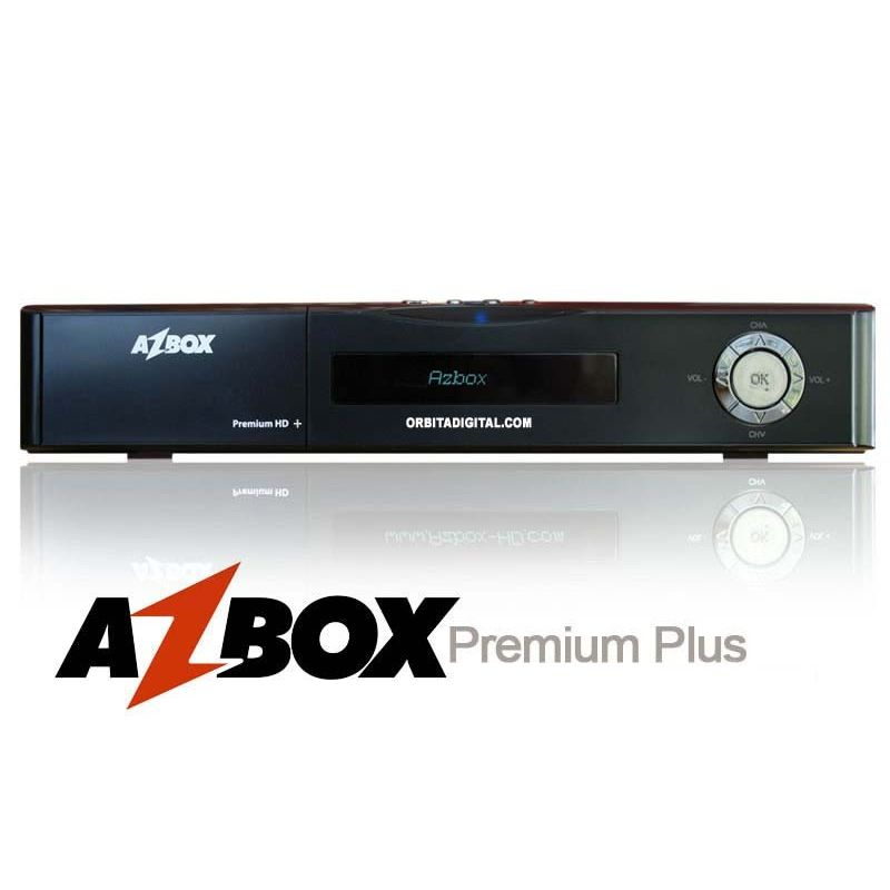 Azbox Premium+ Plus HD Combo (SAT+TDT)
