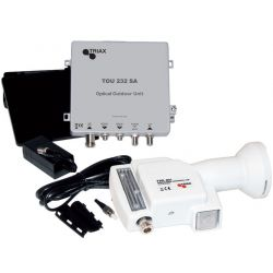 LNB with coaxial output...