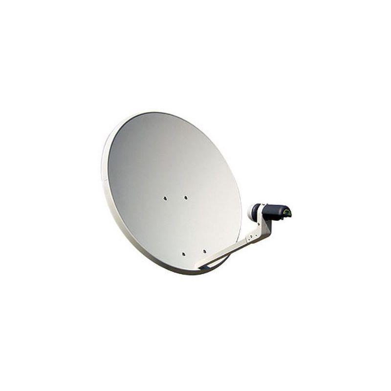 Acero 80 cm + LNB 0.2 dB Mvision