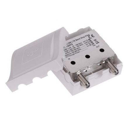 Triax TBSI 259 Indoor LTE/4G Filter 1 Input BI+BII+BIII+UHF Attenuation to C59. Triax 314070