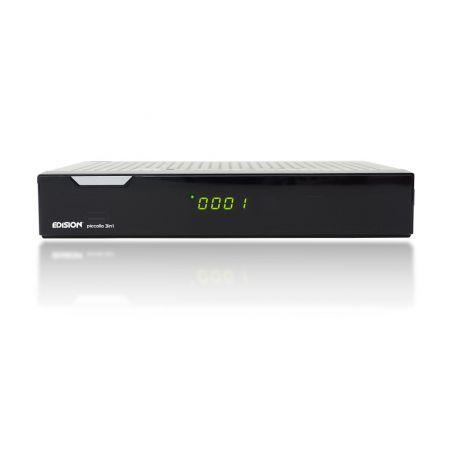 Receptor Edision Piccollo 3in1 COMBO  DVB-T2/S2/C  Full HD 1080p + WiFi