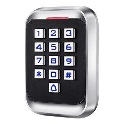 AC108 - Controlo de acesso autónomo, Acesso por teclado e EM…