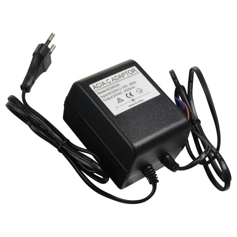 AC24V2A - AC/AC Transformer, Input AC 220 V, Output AC 24 V 2…