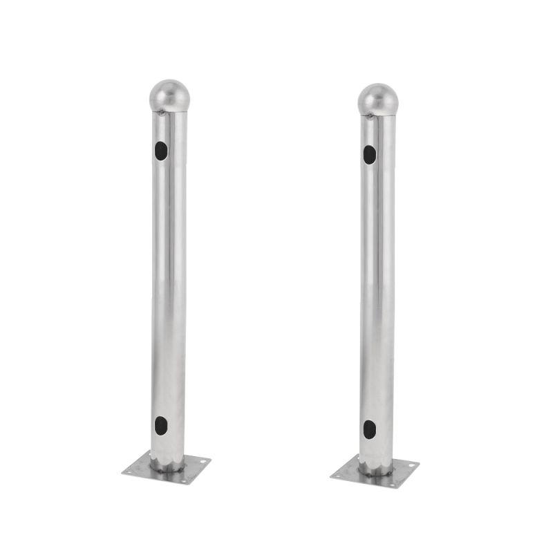 ALF-50T - Barrier bracket, Model T, Stainless steel, Compatible…