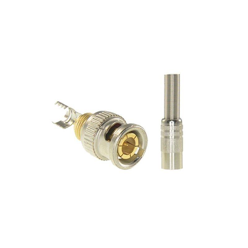 Safire CON116 - Conector SAFIRE, BNC para soldar, Adaptado a RG59,…