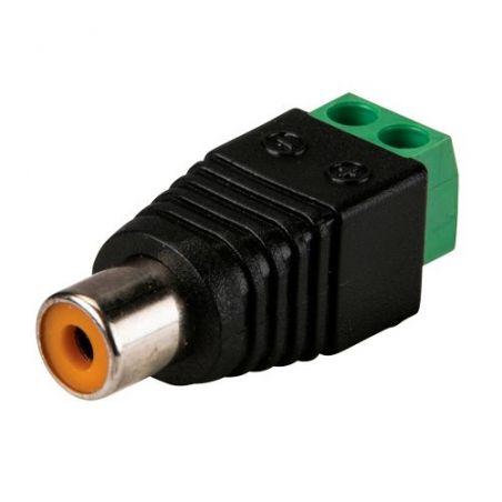 Safire CON296 - Connecteur, RCA femelle, Sortie +/ de 2 terminaux, 36…