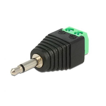 Safire CON297 - Connecteur, Jack 3.5 mm Mono, Sortie +/ de 2…