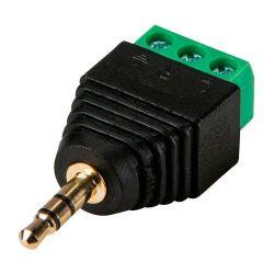 Safire CON298 - Conector SAFIRE, Jack 3.5 mm Estéreo, Saída +/ de 2…