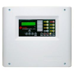 Maxfire CROSSFIRE-8-LCD - 8 Zone Conventional Fire Alarm Panel, 2 siren outputs…