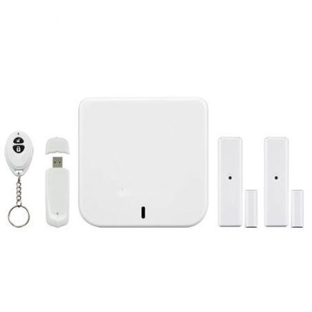 Home8 H21004EU - Kit de alarma doméstica Home8, Conexión a internet /…