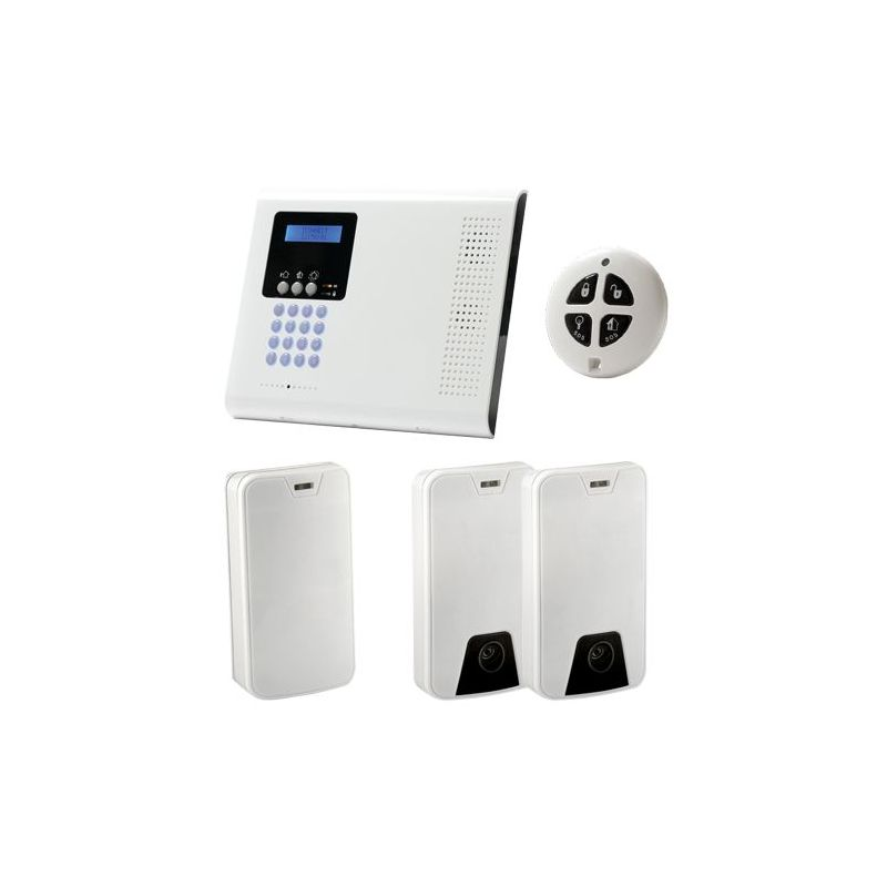 Risco ICONNECT-KIT01 - Kit d'alarme bidirectionnel professionnel,…