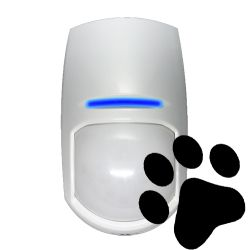 Pyronix KX10DTP-WE - Detector PIR doble tecnología, Antimascotas, 1 PIR…