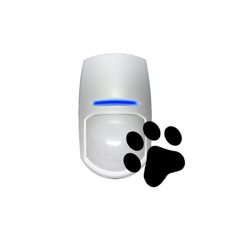 Pyronix KX10DTP-WE - Detector PIR dupla tecnologia, Imune a animais…
