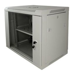 "RACK-9UG - Rack cabinet for wall, Up to 9U rack of 19"", Up to 100…"