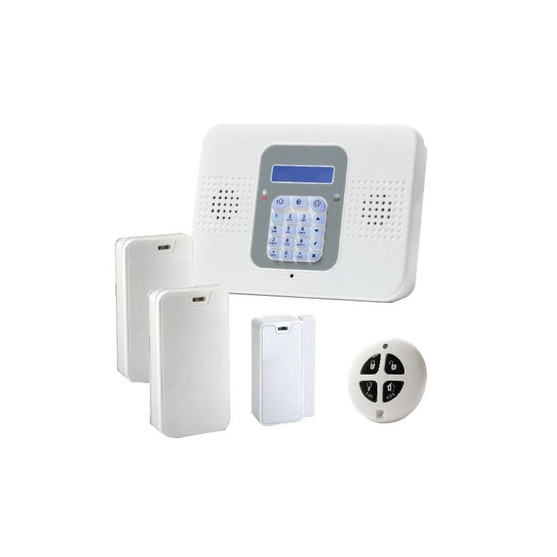Risco SECUPLACE-2GW - One-way professional alarm kit, 2G/WiFi Communication,…