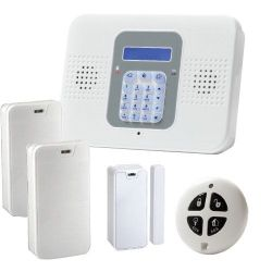 Risco SECUPLACE-W - One-way professional alarm kit, Communication via…