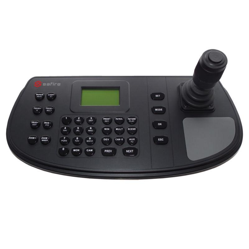 Safire SF-KB1200 - Teclado de control por red Safire, Doble interfaz:…