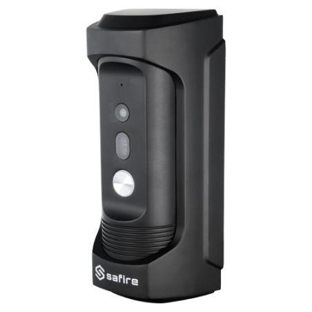 Safire SF-VI104E-IP - Videoportero IP, Cámara 2Mpx con lente Pinhole, Audio…