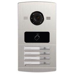 Safire SF-VI108E-IP - Portier vidéo IP pour 4 appartements, Caméra 1,3Mpx,…