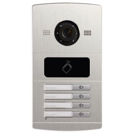Safire SF-VI108E-IP - Videoporteiro IP para 4 apartamentos, Câmara 1,3Mpx,…