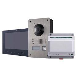 Safire SF-VI302-2 - Kit de Videoporteiro, Tecnologia 2 fios, Inclui Placa,…