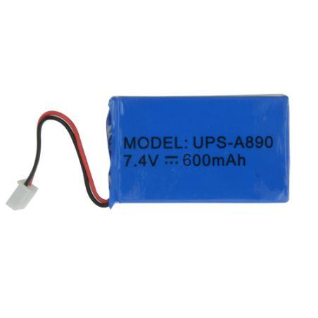Chuango UPS-A890 - Batterie de secours, Lithium, Rechargeable, 7.4 V, 500…