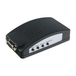 VGA-CONVERTER - Adaptateur de vidéo, Entrées: VGA, SVIDEO ou Video…