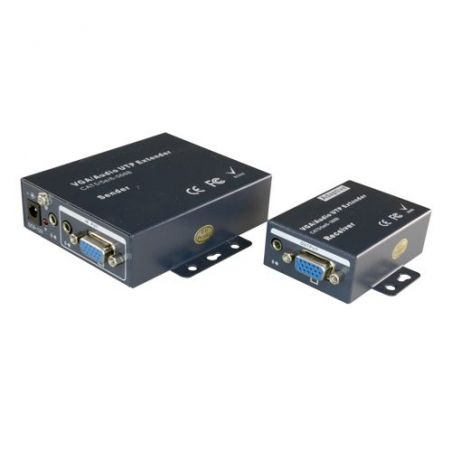 VGA-EXT - Extenseur actif VGA, Émetteur et le récepteur,…