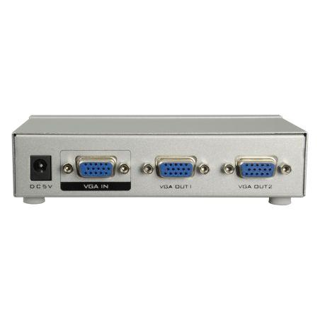VGA-SPLITTER-2 - Multiplicador de señal VGA, 1 entrada VGA, 2 salidas…