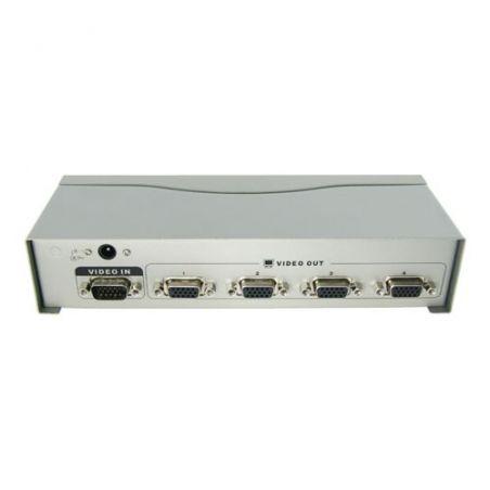 VGA-SPLITTER-4 - Multiplicateur de signal VGA, 1 entrée VGA, 4 sortie…