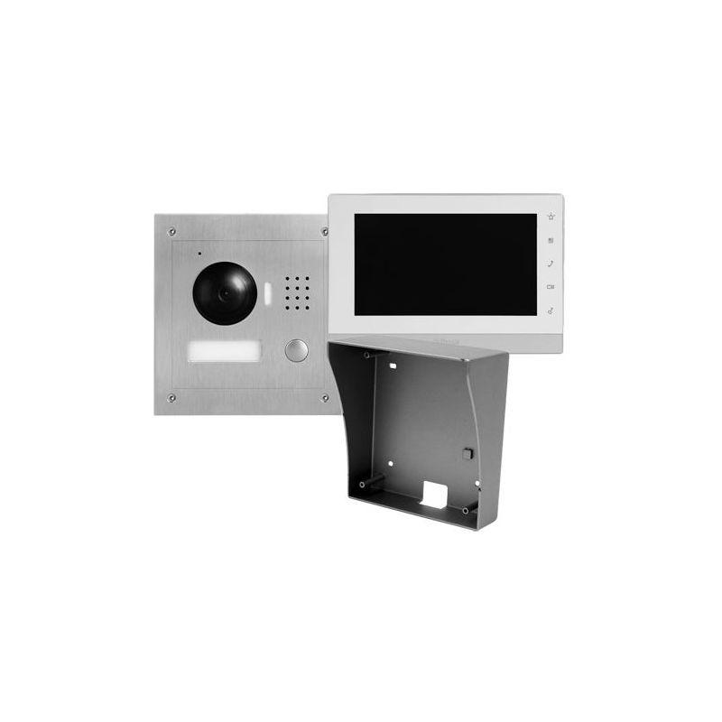 X-Security VTK-S2000-2 - Kit de Videoporteiro, Tecnologia 2 fios, Inclui Placa,…