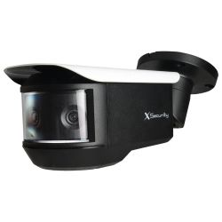 "X-Security XS-CV680PWA-4KC - Panoramic HDCVI Camera, 3 x 1/2.8"" Sony© Exmor…"