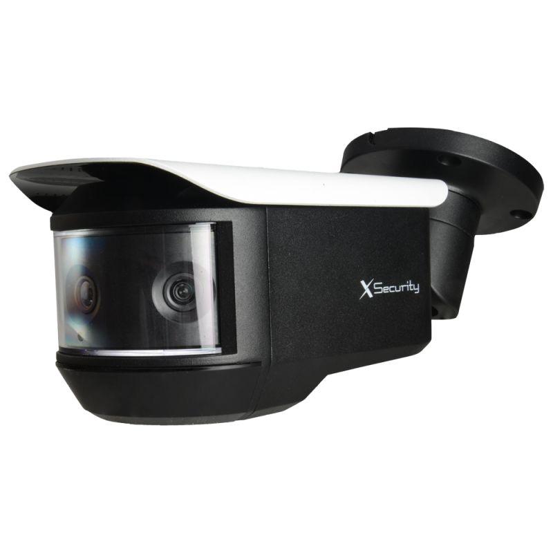 """X-Security XS-CV680PWA-4KC - Caméra HDCVI Panoramique, 3 x 1/2.8"""" Sony© Exmor…"""