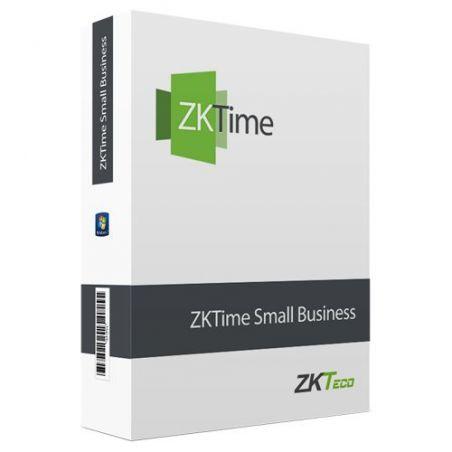 Zkteco ZKTIME-SB-100 - Licencia software control de presencia, Capacidad 100…