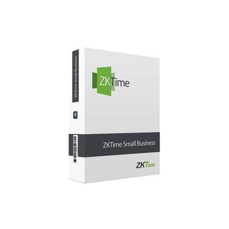 Zkteco ZKTIME-SB-50 - Licencia software control de presencia, Capacidad 50…