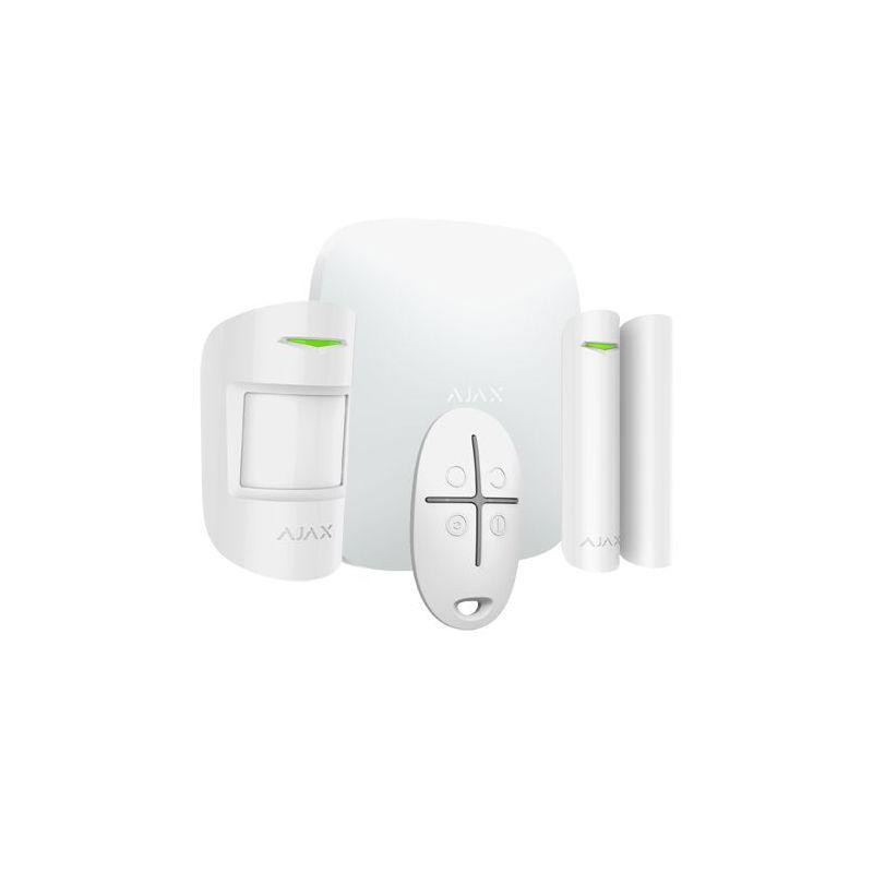 Ajax AJ-HUBKIT-W - Professional alarm kit, Certificate Grade 2, Ethernet…
