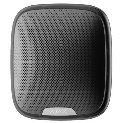 Ajax AJ-STREETSIREN-B - Outdoor siren, 868MHz Jeweller Wireless, Grade 2…