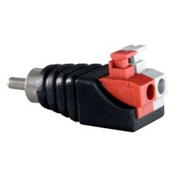 Safire CON295A - Safire, Easy connect RCA male connector, Output +/ of…