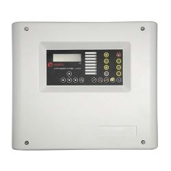 Maxfire CROSSFIRE-4-LCD - 4 Zone Conventional Fire Alarm Panel, 2 siren outputs…