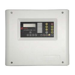Maxfire CROSSFIRE-4-LCD - Central convencional de 4 zonas, 2 Saída de Sirene, 1…