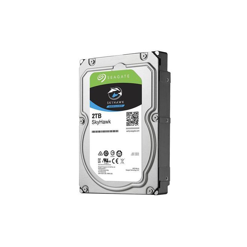 Seagate HD2TB-S-LITE - Disque dur Seagate Skyhawk, Capacité 2 TB, Interface…