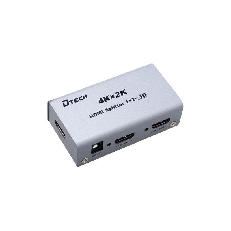 HDMI-SPLITTER-2-4K - Multiplicateur de signal HDMI, 1 entrée HDMI, 2…