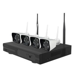 Nivian NV-KIT420W-H - Nivian Video Surveillance Kit, Ethernet and WiFi…